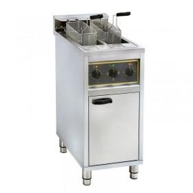 Friteuse sur coffre électrique 2 x 10 litres