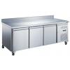 Table réfrigérée 3 portes avec dosseret - Série 700