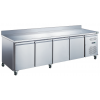 Table réfrigérée 4 portes avec dosseret - Série 700