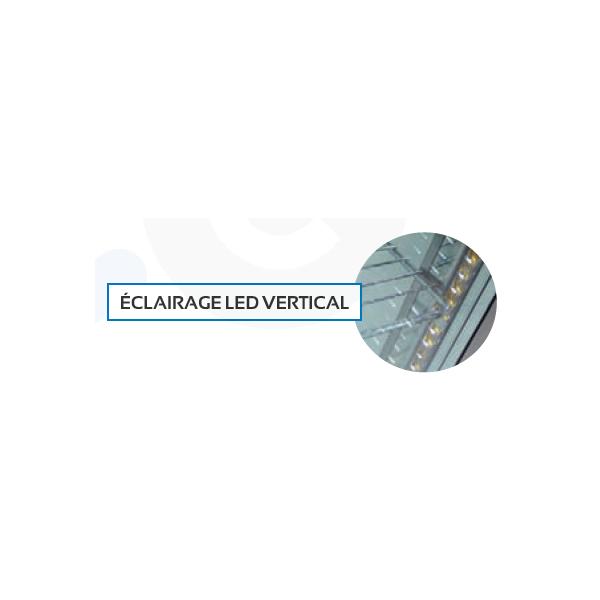 Vitrine panoramique Positive 360 litres Noir-Plateaux tournants