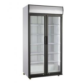 Armoire à boissons 590L 2 portes battantes