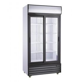 Armoire à boissons 800L 2 portes coulissantes