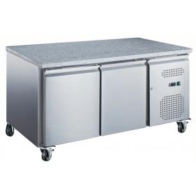 Table réfrigérée 2 portes - Série pâtissière 600 X 400