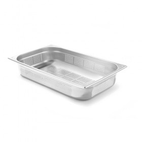 Bac Gastronorme Inox GN1/1 perforé - 325 x 530 mm