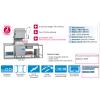 Lave-vaisselle à capot panier 500 x 500 mm Elettrobar