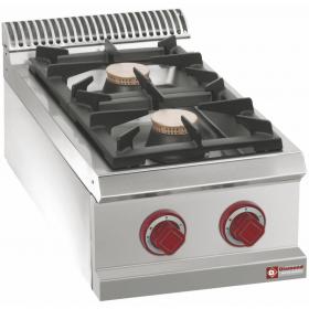 Cuisinière gaz 2 feux vifs -Top