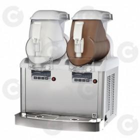 Distributeurs de glace italienne 2 cuves 12 Litres